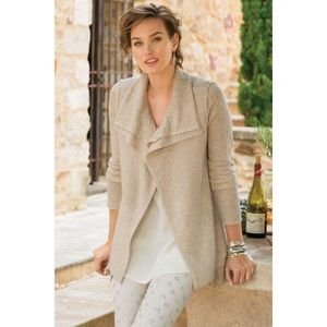 Soft Surroundings Kendle Open Cardi